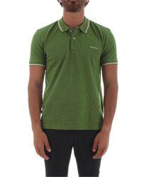 Woolrich Green Cotton Polo Shirt for men