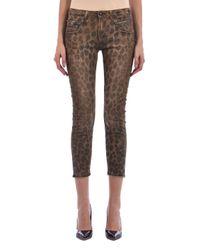R13 Brown Cotton Jeans