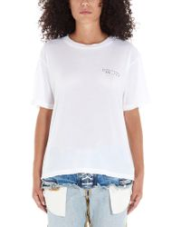 Unravel Project White WEISS T-SHIRT