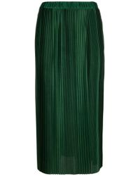 Givenchy Green Polyester Skirt