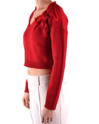 RED Valentino Red Wool Jumper