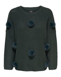ONLY Green Acrylic Sweater