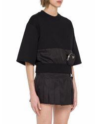 Prada Black BAUMWOLLE T-SHIRT