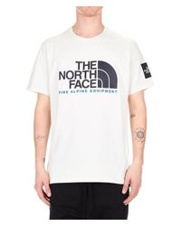 The North Face White Cotton T-shirt for men
