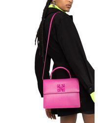 Off-White c/o Virgil Abloh Multicolor Leather Handbag