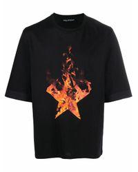 Neil Barrett BAUMWOLLE T-SHIRT in Black für Herren