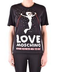 Love Moschino Black SCHWARZ T-SHIRT