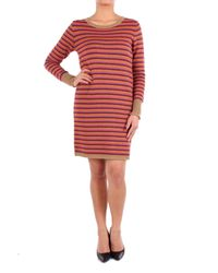 Twin Set Red Wool Dress