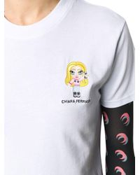 Chiara Ferragni White WEISS T-SHIRT