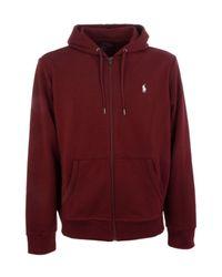 Ralph Lauren Red Polyester Sweatshirt for men