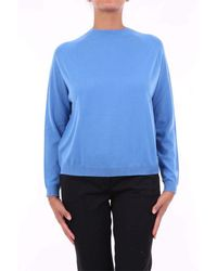 Peserico Blue WOLLE PULLOVER