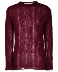 Golden Goose Deluxe Brand Red Sweater for men