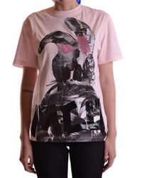 COTONE ROSA di McQ Alexander McQueen in Pink
