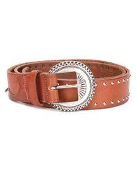 Golden Goose Deluxe Brand Brown Leather Belt for men