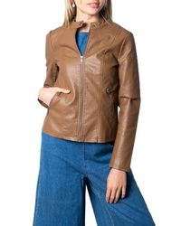 ONLY Brown POLYESTER JACKE
