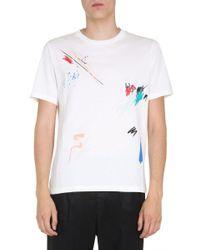 Paul Smith BAUMWOLLE T-SHIRT in White für Herren