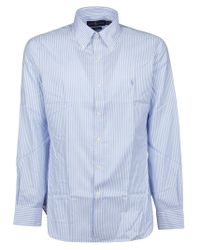 Ralph Lauren Blue Cotton Shirt for men