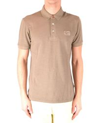 Napapijri Natural Beige Cotton Polo Shirt for men
