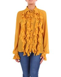 Philosophy Yellow GELB POLYESTER SHIRT