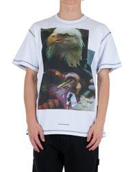 United Standard White Cotton T-shirt for men