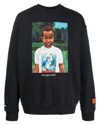 Heron Preston Black Cotton Sweatshirt for men