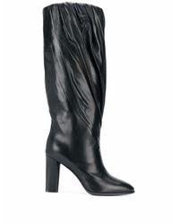 Givenchy Black LEDER STIEFEL