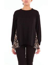 Boutique Moschino Black POLYESTER BLUSE
