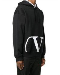 Valentino BAUMWOLLE SWEATSHIRT in Black für Herren