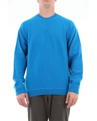 PS by Paul Smith Blue Wool Sweater for men