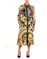 Versace Black Silk Dress