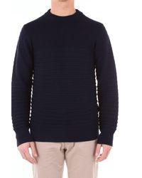 Dondup Blue Wool Sweater for men
