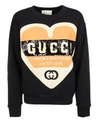 Gucci Black SCHWARZ SWEATSHIRT
