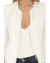 IRO White WEISS STRICKJACKE
