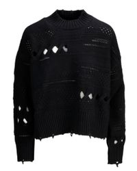 LANA NERO di Versace in Black