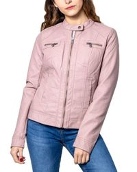 ONLY Pink POLYESTER JACKE