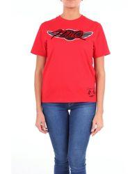 McQ Alexander McQueen Red Cotton T-shirt