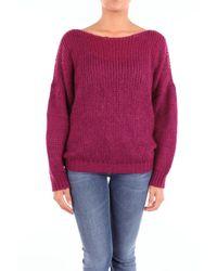 Altea Multicolor Burgundy Wool Sweater