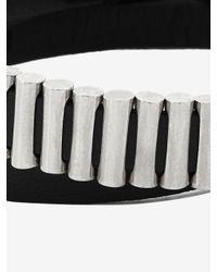 McQ - Metallic Mini Bullets Wrap Bracelet - Lyst