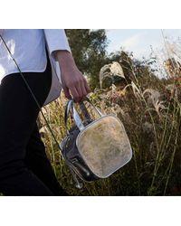 Meli Melo - Metallic Rosetta | Cross Body Bag | Silver - Lyst