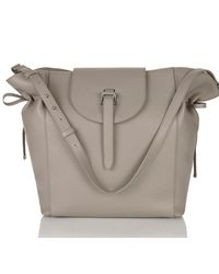 6690148b5195 Lyst - meli melo Fleming Tote Bag Taupe in Gray