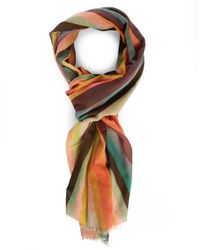 Paul Smith | Multicolor Striped Scarf for Men | Lyst
