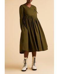 Merlette Green Collier Dress?variant=39318910042214