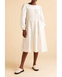 Merlette White Leyland Dress?variant=39314850644070