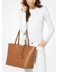 Michael Kors - Multicolor Cameron Large Leather Reversible Tote - Lyst