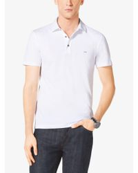 Michael Kors - White Cotton Polo Shirt for Men - Lyst