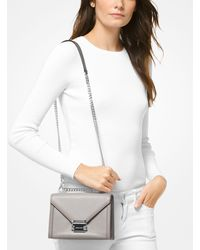 Michael Kors Multicolor Whitney Small Two-tone Leather Convertible Shoulder Bag