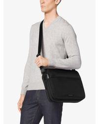 Michael Kors - Black Parker Large Nylon Messenger for Men - Lyst