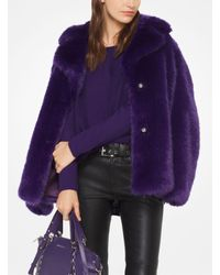 Michael Kors - Purple Cotton-blend Pullover - Lyst