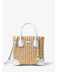 MICHAEL Michael Kors Multicolor Malibu Woven Straw Crossbody Bag