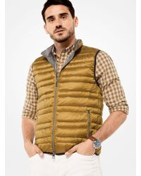 Michael Kors - Multicolor Quilted-nylon Vest for Men - Lyst